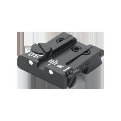 Komplet przyrządów celowniczych LPA TPU60BS30 do pistoletu Browning HP Sport