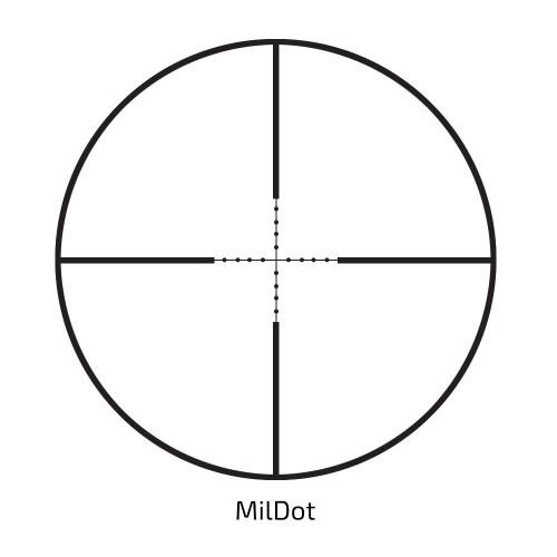 Luneta celownicza Delta Optical Titanium 4-16x42 MilDot