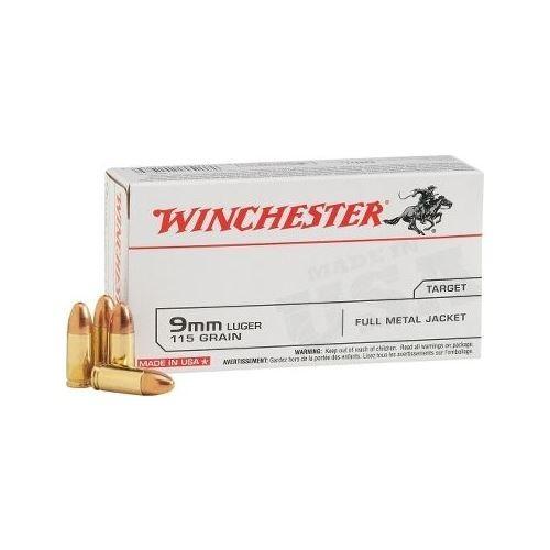 Amunicja Winchester 9 mm Luger FMJ 7,5g