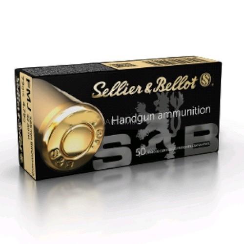 Amunicja Sellier & Bellot 357 Magnum FMJ
