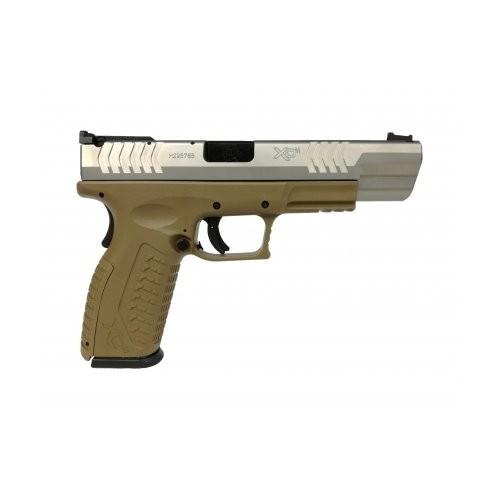 "Pistolet HS Produkt XDM-9 4,5"" Srebrno-Brązowy"
