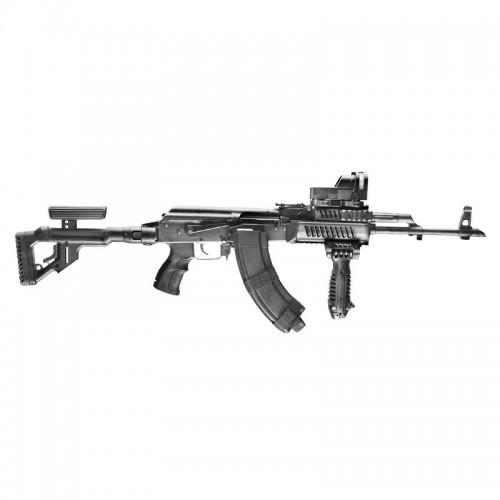 System szyn montażowych do AK-47