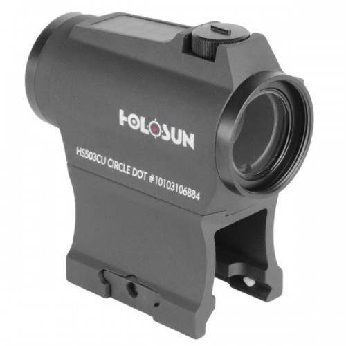Holosun - Kolimator HS503CU Red Dot - Multi Reticle - Solar Panel Cena 1379 zł