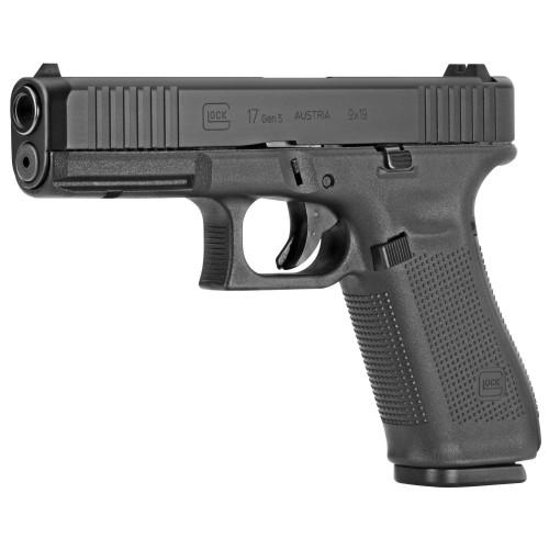 Pistolet Glock 17 Gen.5 wersja FS - Front Serrations kal. 9x19