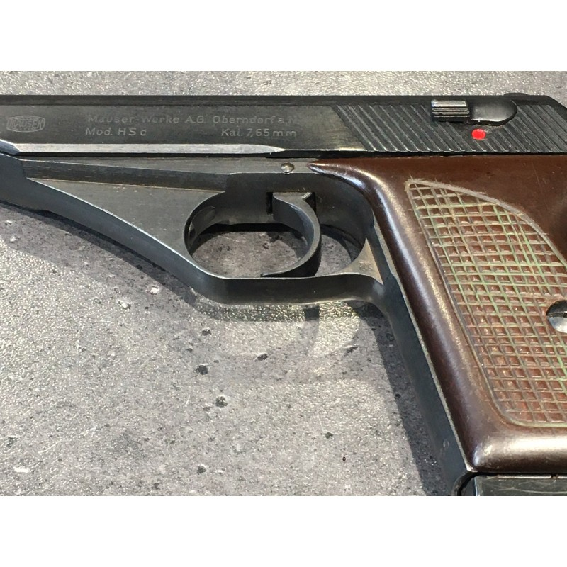 Pistolet Mauser HSc kal. 7,65 - 32 ACP