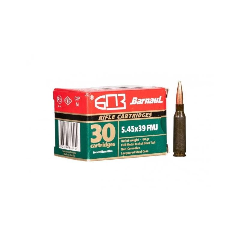 Amunicja Barnaul 5,45x39 FMJ