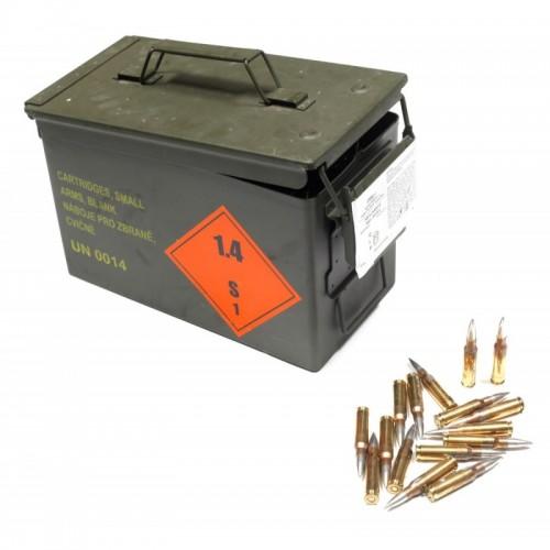 Amunicja kal. 308 Win/7,62x51mm FMJ 9,5gr / DM111