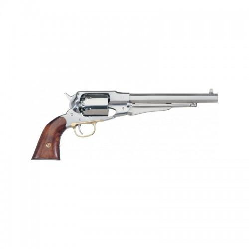 """Rewolwer New Army 1858 """"Remington"""" INOX - kolor srebrny (nierdzewny) 5,5 cala"""