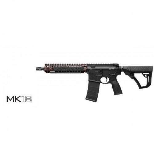 Karabinek samopowtarzalny Daniel Defence  MK18 Czarny