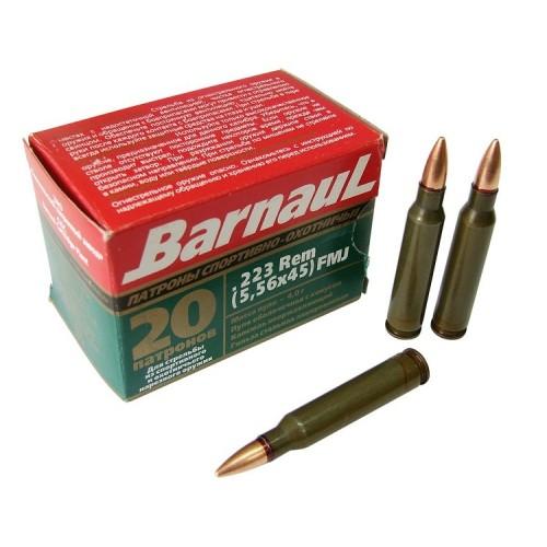 Barnaul 223 rem (5,56x45) FMJ