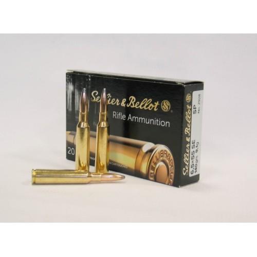 Amunicja Sellier & Bellot 6,5x55 SE SP